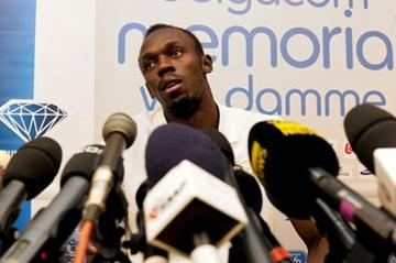 Bolt in Brussels - Samsung Diamond League (PHOTONEWS)