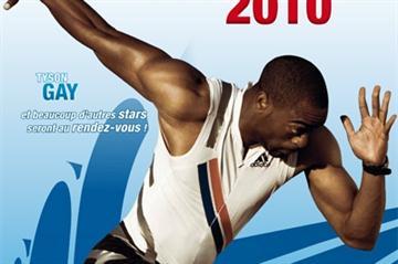 Monaco Herculis - IAAF Diamond League - poster 2010 (Freelance)