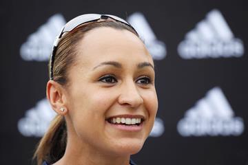 Jessica Ennis-Hill speaks to the media (Getty Images)