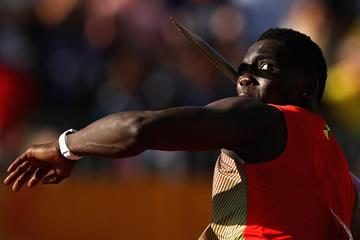 Grenadian javelin thrower Anderson Peters (Getty Images)