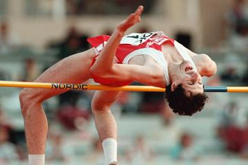 Artur Partyka at the 1997 IAAF World Championships (Getty Images / AFP)