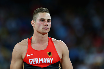 Johannes Vetter in the javelin at the IAAF World Championships (Getty Images)