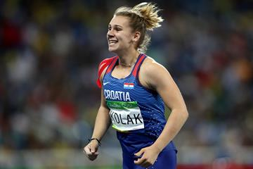 Sara Kolak in the javelin at the Rio 2016 Olympic Games (Getty Images)