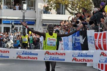 Dieudonné Disi wins in Cassis (Yannick Parienti)