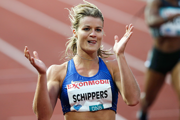 Dafne Schippers in action at the IAAF Diamond League meeting in Oslo (AFP / Getty Images)