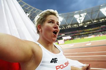 Anita Wlodarczyk at the IAAF World Championships London 2017 (Getty Images)
