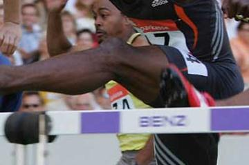 13.00 Cuban national record for Robles in Stuttgart (Getty Images)