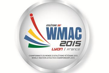 2015 World Masters Athletics Championships logo (LOC)