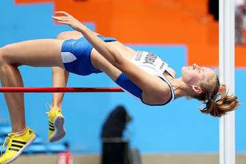 Czech Republic's Michaela Hruba at the IAAF World Youth Championships, Cali 2015 (Getty Images)