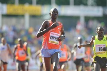 Hengelo 1500m winner Asbel Kiprop (organisers)