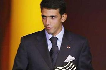 Hicham El Guerrouj at the IAF Gala (Getty Images)