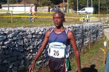Festus Langat of Kenya in Amora (P. Costa)