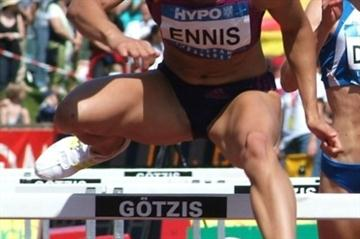 Jessica Ennis close to PB pace after first day in Gotzis (Lorenzo Sampaolo)