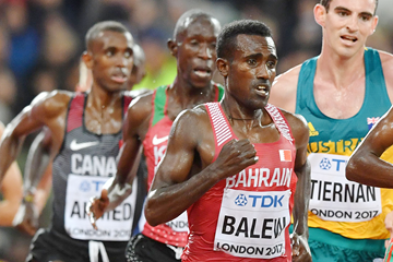 Birhanu Balew in the 5000m at the IAAF World Championships London 2017 (Getty Images)