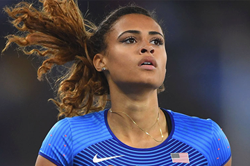 Sydney McLaughlin at the Rio 2016 Olympic Games (Getty Images)