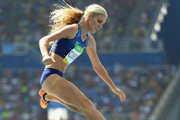 Emma Coburn en route to Olympic bronze in Rio (Getty Images)