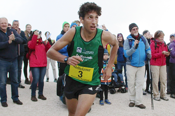 Antonio Toninelli in action at the Hochfelln Berglauf in Bergen (Organisers)