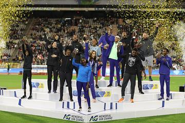 The 16 2019 Diamond League champions crowned in Brussels (Giancarlo Colombo)