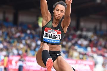 Malaika Mihambo in Birmingham (Jiro Mochizuki)