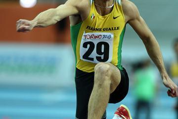 Fabrizio Donato extends the Italian record to 17.42m in Turin (Giancarlo Colombo)