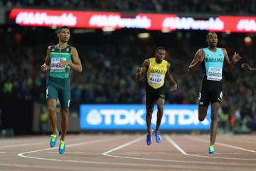 Wayde van Niekerk wins the 400m at the IAAF World Championships London 2017 (Getty Images)