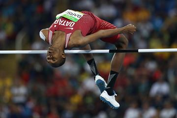 Mutaz Essa Barshim in the high jumpat the Rio 2016 Olympic Games (Getty Images)