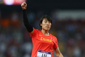 Lu Huihui at the London 2012 Olympic Games (Getty Images)
