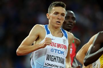 Jake Wightman in the 1500m at the IAAF World Championships London 2017 (Getty Images)