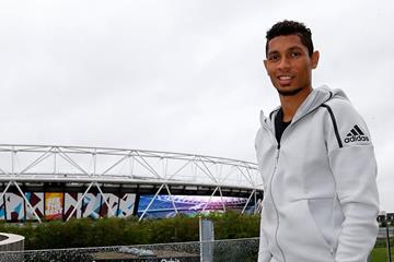 Wayde van Niekerk ahead of the IAAF World Championships London 2017 (Adidas Fast Zone)