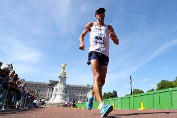 Yohann Diniz in the 50km race walk at the IAAF World Championships London 2017 (Getty Images)