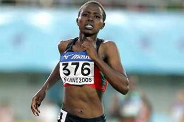 Kenya's Irene Jelagat wins the women's 1500m (Getty Images)