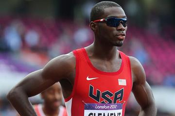Kerron Clement in the 400m hurdles at the London 2012 Olympic Games (Getty Images)