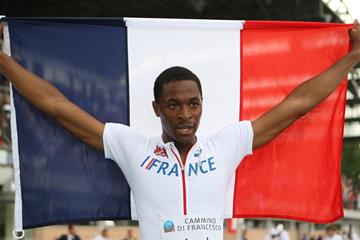 Wilhem Belocian at the 2013 European Athletics Junior Championships (Getty Images)