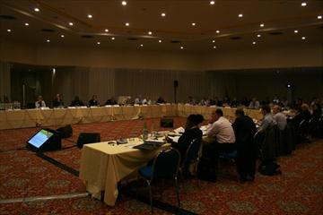 The first day of the IAAF Council Meeting at the Fairmont Hotel in Monaco (Bob Ramsak)