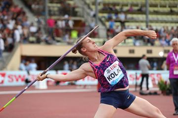 Sara Kolak unleashes a meeting and Croatian national record in Lausanne (Giancarlo Colombo)