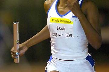 Nicole Leach at the 2005 Arcadia International (Kirby Lee)