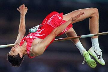 Artur Partyka at the 1996 Olympic Games (Getty Images / AFP)