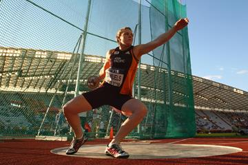 Dani Samuels in the discus at the IAAF Continental Cup (Getty Images)