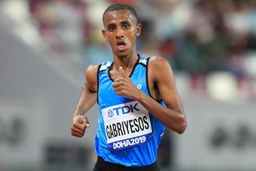Tachlowini Gabriyesos at the World Athletics Championships Doha 2019 (Getty Images)