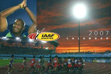 2007 IAAF Wall Planner and Calendar (c)
