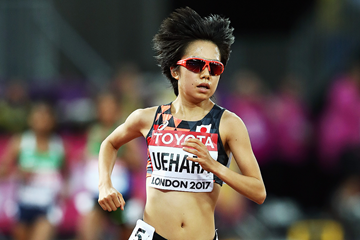Miyuki Uehara in action at the IAAF World Championships (Getty Images)