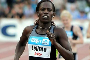 1:56.76 for Pamela Jelimo in Heusden-Zolder (Nadia Verhoft)
