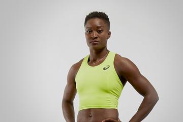 French heptathlete Antoinette Nana Djimou (ASICS)