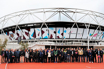 The team leaders' visit ahead of the IAAF World Championships London 2017 (LOC / Mark Shearman)