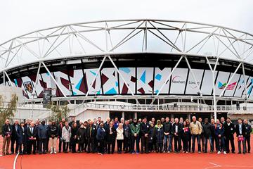 The team leaders' visit ahead of the IAAF World Championships London 2017 (LOC / Mark Shearman)