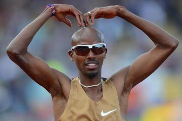Mo Farah at the 2012 Samsung Diamond League meeting in Birmingham  (Getty Images)
