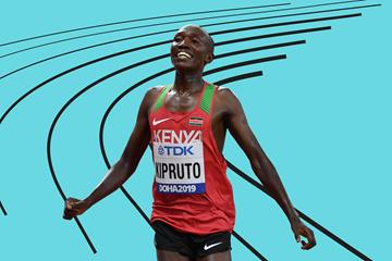 Kenyan distance runner Rhonex Kipruto (AFP / Getty Images)