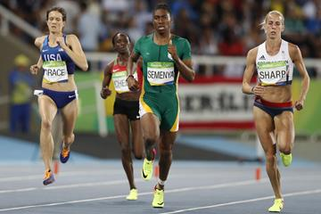 Caster Semenya winning her semi-final at the Rio 2016 Olympic Games (Getty Images)