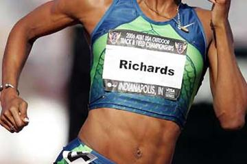 Sanya Richards blasts to 49.27 - USATF nationals (Getty Images)