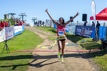 Lucy Murigi wins the IAAF/WMRA World Mountain Running Championships (Federació andorrana d'atletisme)